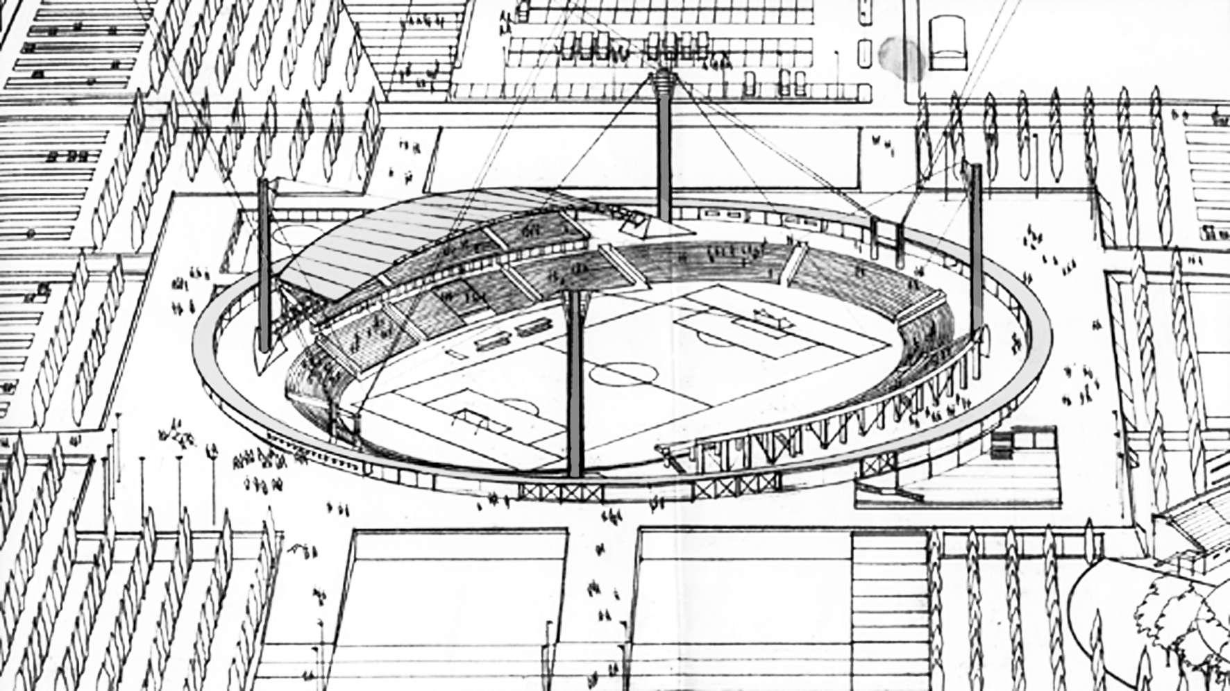 Concurso Nacional de Anteproyectos – Estadio Unico